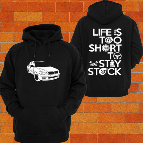 Mitsubishi Lancer CG CH Hoodie - Chaotic Customs