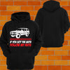 "Toyota Landcruiser 80 series ""Got the Nuts"" Hoodie or Tshirt/Singlet - Chaotic Customs"