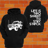 Toyota Landcruiser 79 Series Hoodie or Tshirt/Singlet - Chaotic Customs