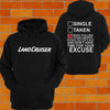 Toyota Landcruiser SNATCH STRAP Hoodie - Chaotic Customs