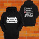 Mazda 3 BK Hatch Hoodie - Chaotic Customs