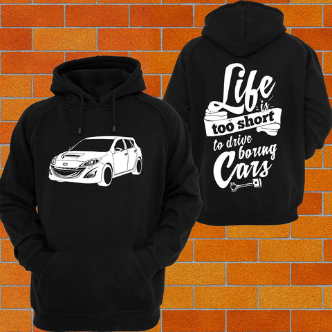 Mazda 3 BL Hatch Hoodie - Chaotic Customs