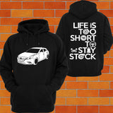 Mazda 3 BM Hatch Hoodie - Chaotic Customs