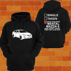Mazda 6 GH Hoodie - Chaotic Customs