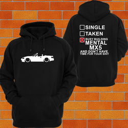 Mazda MX5 nb Hoodie - Chaotic Customs