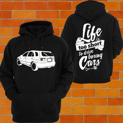Nissan N15 SSS Pulsar (rear) Hoodie or Tshirt/Singlet - Chaotic Customs