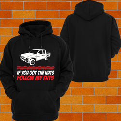 "Navara D21 ""Got the Nuts"" Hoodie or Tshirt/Singlet - Chaotic Customs"