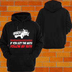 "Navara Tray Back ""Got the Nuts"" Hoodie or Tshirt/Singlet - Chaotic Customs"