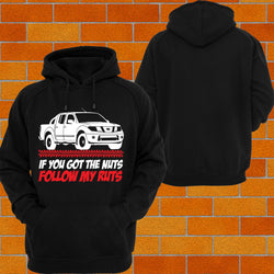 "Navara D40 ""Got the Nuts"" Hoodie or Tshirt/Singlet - Chaotic Customs"