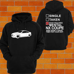 Nissan NX Coupe Hoodie - Chaotic Customs