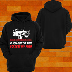 "Ford Mav / GQ patrol ""Got the Nuts"" Hoodie or Tshirt/Singlet - Chaotic Customs"