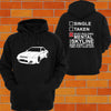 Nissan R32 Skyline Hoodie (angle) - Chaotic Customs