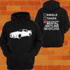 Nissan R34 Skyline Hoodie (angle) - Chaotic Customs