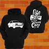 Mazda RX3 Hoodies (front) - Chaotic Customs