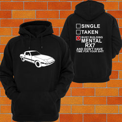 Mazda RX7 S1, 2, 3 Hoodie - Chaotic Customs