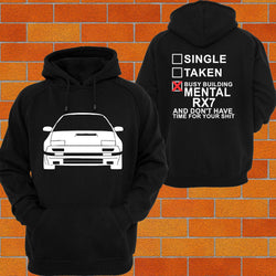 Mazda RX7 S4, 5 Hoodie (Front) - Chaotic Customs