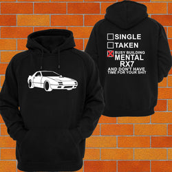 Mazda RX7 S4, 5 Hoodie - Chaotic Customs