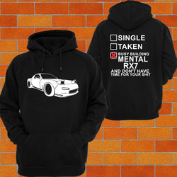 Mazda RX7 S6, 7 Hoodie - Chaotic Customs