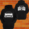 Nissan SIL80 Front and Back Hoodie (sileighty) - Chaotic Customs