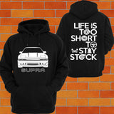 Toyota Supra A70 Hoodie (Front) - Chaotic Customs