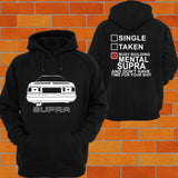 Toyota Supra A70 Hoodie (Back) - Chaotic Customs