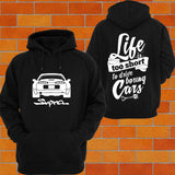 Toyota Supra MKIV Hoodie (rear facing) - Chaotic Customs