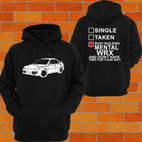 WRX MY99 GC8 Hoodie (side) - Chaotic Customs