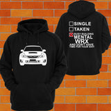 WRX MY10 Wide Body Hoodie - Chaotic Customs