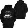 Social Distancing is hard WRX Hoodie or Tshirt/Singlet - Chaotic Customs