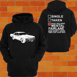Ford ZH Fairlane (Back Angle) Hoodie or Tshirt/Singlet - Chaotic Customs