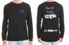 Classic 60's Car Club Long Sleeve Tshirt - Chaotic Customs
