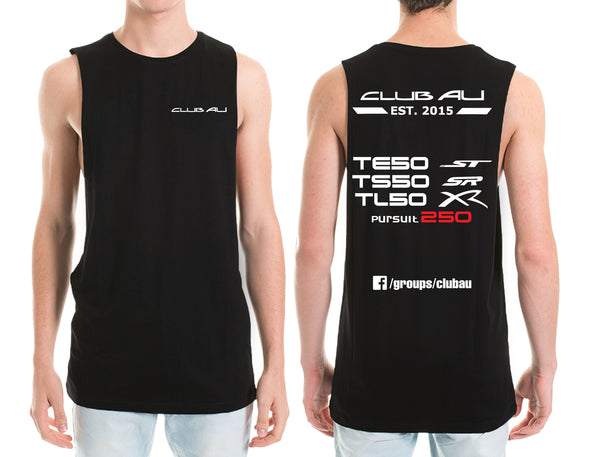 Club AU Option 2 T shirt /  Singlet / Muscle Tank - Chaotic Customs