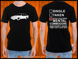 Holden VN Commodore (side angle) Tshirt / Singlet - Chaotic Customs