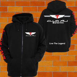 Club AU Hoodie ZIP hoodie - Chaotic Customs