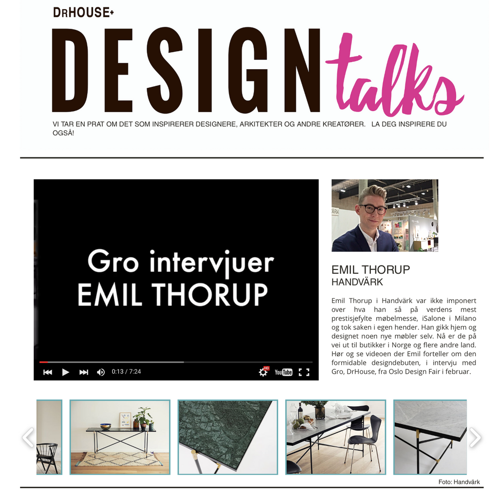 Design talks - www.drhouse.no