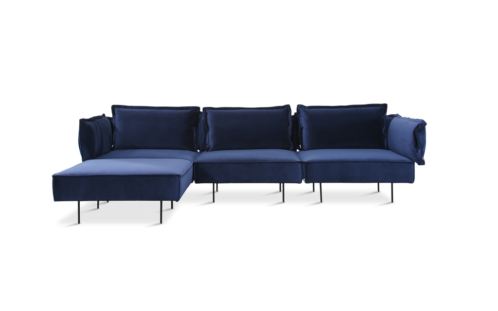 Three-Seat Sofa with Chaise