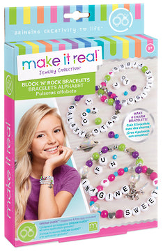 Make it Real - Jewelry Collection - Block 'n' Rock Bracelets