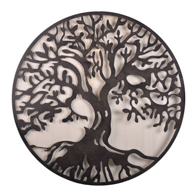 Wall Art: Tree of Life Medium (Circle)