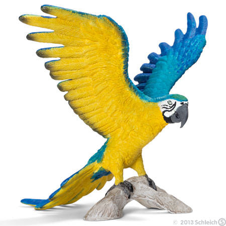 Schleich - Blue-and-Yellow Macaw