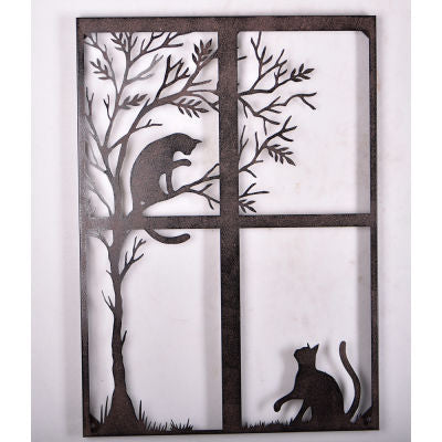Wall Art: Cats Playing