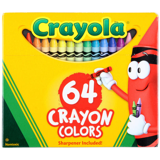 Crayola - 64 Crayon Colors