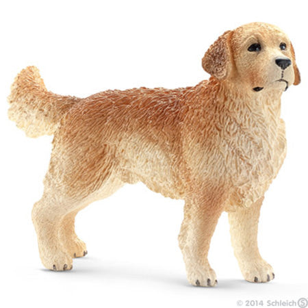 Schleich - Golden Retriever, male