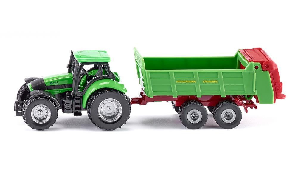 Siku Super - Tractor with Universal Spreader #1673
