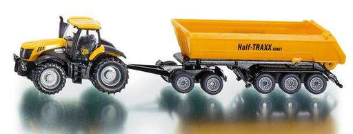 Siku Farmer - 1:87 JCB 8250 with dolly and tipping trailer #1858