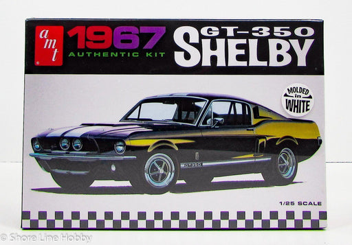 AMT - 1/25 1967 Shelby GT350 Model Kit (molded in white)