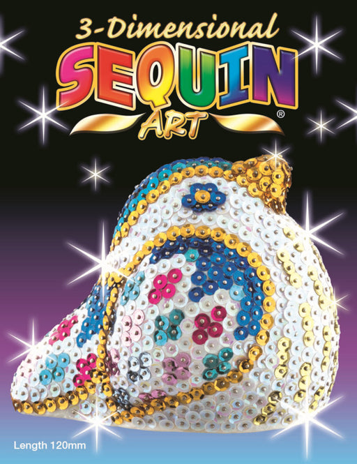 3D Sequin Art - Songbird