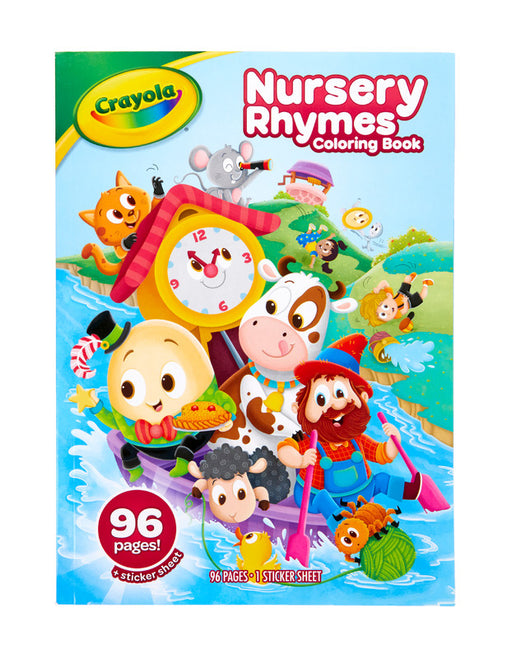 Crayola - Colouring Book - Nursery Rhymes