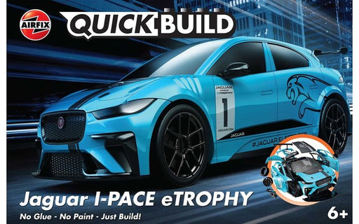 Airfix Quick Build - Jaguar I-PACE eTROPHY