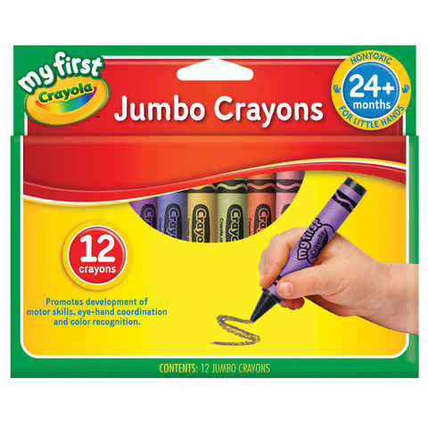 Crayola - My First Jumbo Crayons (12 pc)
