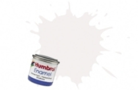 Humbrol 14ml Enamel Paint Matt - #34 White